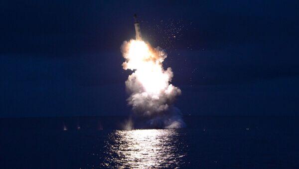Запуск ракеты в КНДР - Sputnik Узбекистан