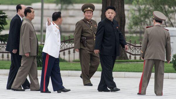 КХДР етакчиси Ким Чен Ин - Sputnik Ўзбекистон