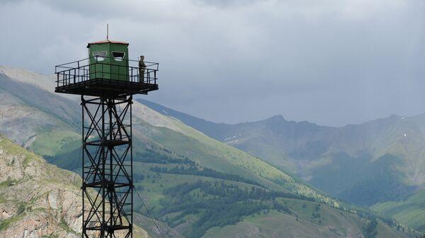 Пограничная застава в Республике Алтай - Sputnik Ўзбекистон