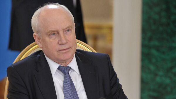 Predsedatel Ispolnitelnogo komiteta – ispolnitelnыy sekretar SNG Sergey Lebedev - Sputnik Oʻzbekiston