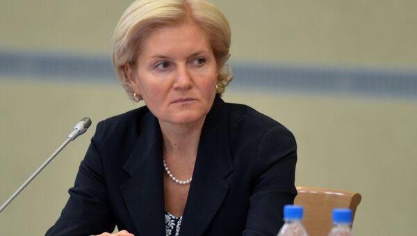 Заместитель председателя правительства РФ Ольга Голодец - Sputnik Узбекистан