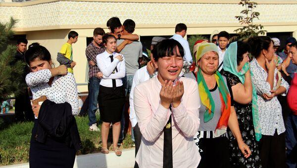Прощание с президентом Узбекистана Исламом Каримовым - Sputnik Узбекистан