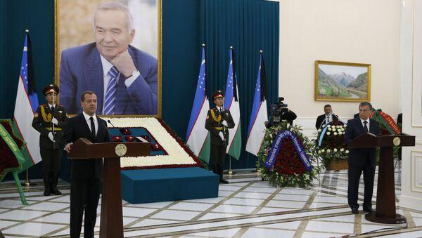 Прощание с президентом Узбекистана И. Каримовым - Sputnik Узбекистан