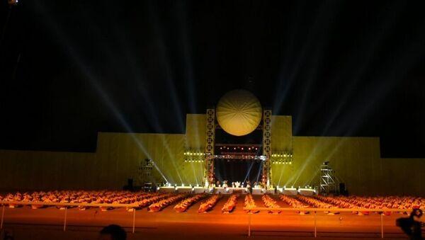 Церемония открытия II Всемирных игр кочевников - Sputnik Узбекистан