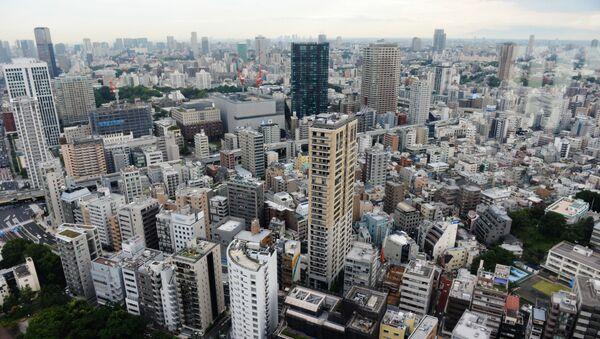 Вид на город Токио - Sputnik Ўзбекистон