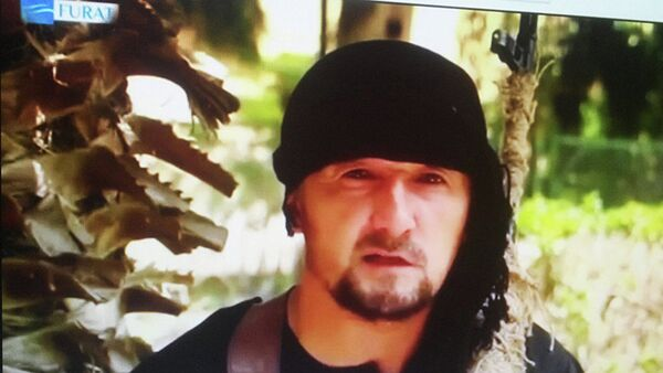 Kadr iz videorolika, v kotorom Gulmurod Xalimov zayavil o prisoyedinenii k IG - Sputnik Oʻzbekiston