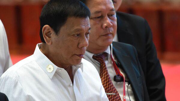 Prezident Filippin Rodrigo Duterte - Sputnik Oʻzbekiston