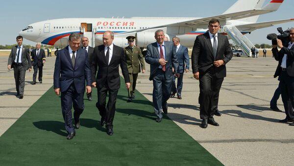 Vladimir Putinning Oʻzbekistonga safari - Sputnik Oʻzbekiston