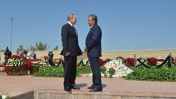 Putinning Oʻzbekistonga tashrifi - Sputnik Oʻzbekiston