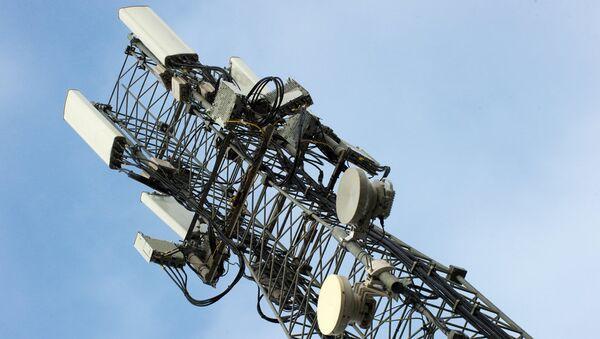 Станция мобильной связи стандарта LTE - Sputnik Ўзбекистон