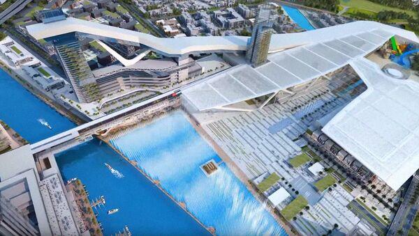 Meydan One Mall prototipi - Sputnik Oʻzbekiston