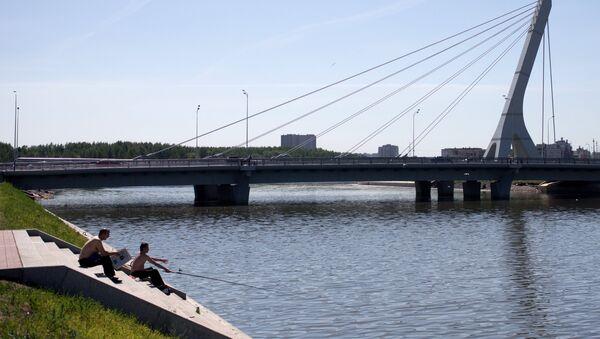 Sankt-Peterburgdagi Dudergof kanali - Sputnik Oʻzbekiston