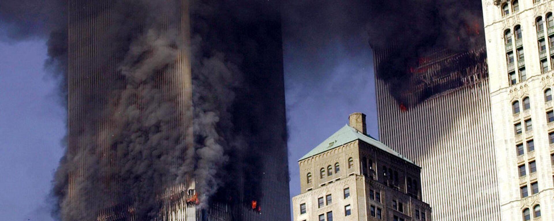 Терракт 11 сентября 2001 в США - Sputnik Узбекистан, 1920, 08.09.2016
