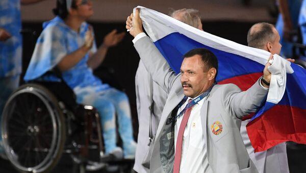 Церемония открытия XV летних Паралимпийских игр 2016 в Рио-де-Жанейро - Sputnik Узбекистан