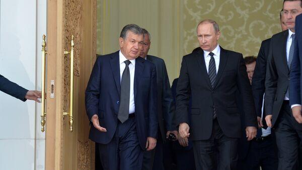 Vizit prezidenta RF V. Putina v Uzbekistan - Sputnik Oʻzbekiston