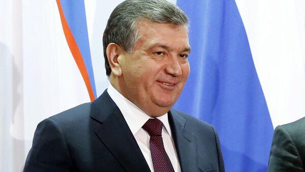 Oʻzbekiston prezidenti v.b. Shavkat Mirziyoyev - Sputnik Oʻzbekiston