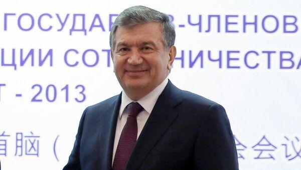 Shavkat Mirziyoyev - Oʻzbekiston prezidenti v.b., Bosh vazir - Sputnik Oʻzbekiston