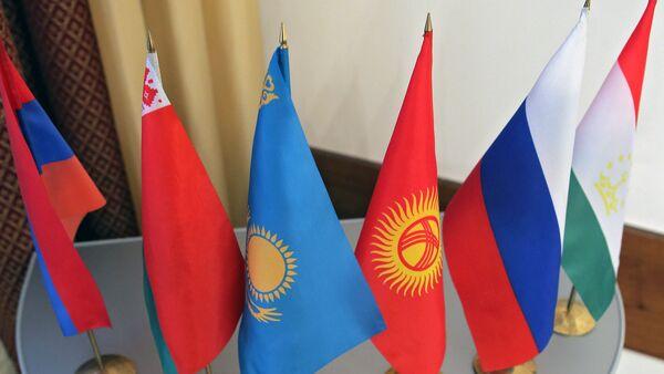 Флаги Содружества Независимых Государств - Sputnik Ўзбекистон