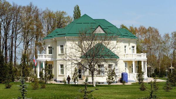 Бишкек шаҳридаги Ола-Арча қароргоҳи - Sputnik Ўзбекистон