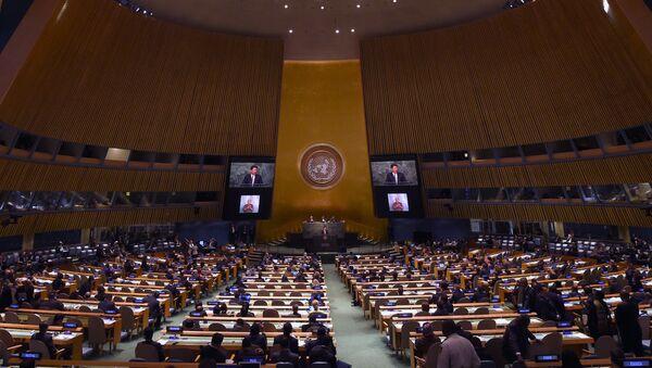 Генеральная Ассамблея Организации Объединенных Наций в Нью-Йорке - Sputnik Ўзбекистон
