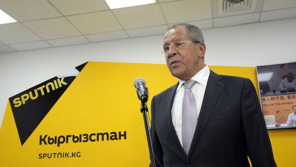 Sergey Lavrov Sputnik ofisida - Sputnik Oʻzbekiston