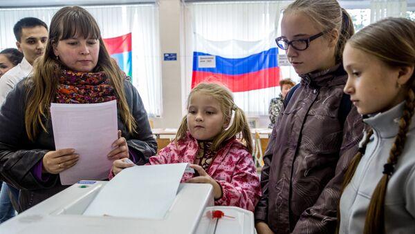 Rossiyada yagona saylov kuni - Sputnik Oʻzbekiston