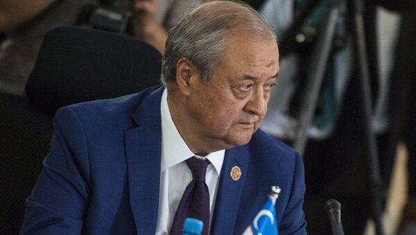 Oʻzbekiston Tashqi Ishlar vaziri Abdulaziz Kamilov - Sputnik Oʻzbekiston