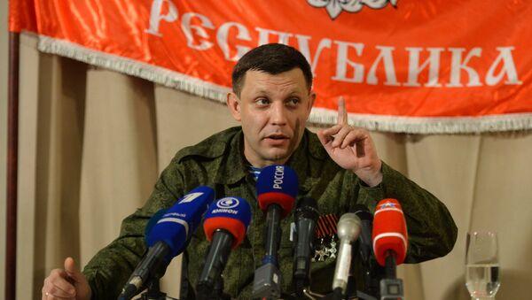 Глава Донецкой народной республики Александр Захарченко - Sputnik Узбекистан