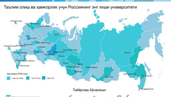 Россиянинг энг хайрихох университетлари1 - Sputnik Ўзбекистон