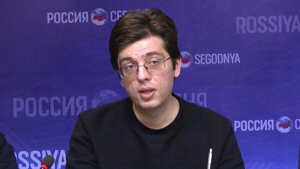 Никита Мендкович - политолог - Sputnik Ўзбекистон