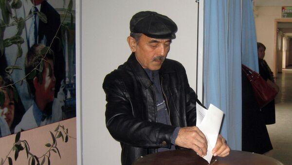 Saylov jarayoni - Sputnik Oʻzbekiston