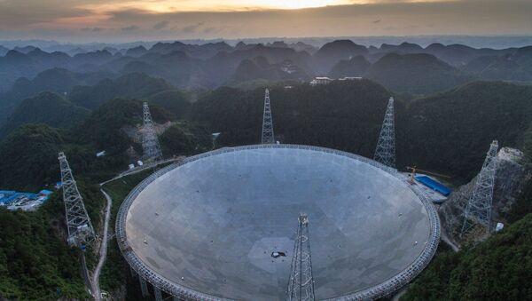 Xitoyning ulkan FAST teleskopi - Sputnik Oʻzbekiston