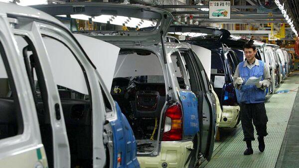 Janubiy Koreyadagi Hyundai Motor zavodi - Sputnik Oʻzbekiston