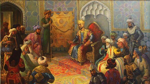 Амир Темур машварати (мажлиси).  - Sputnik Узбекистан