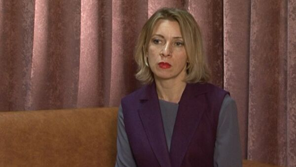 Захарова прокомментировала заявление Пауэр о варварстве России в Сирии - Sputnik Узбекистан