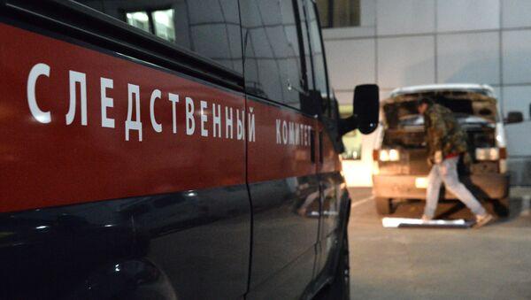 Автомобиль следственного комитета (СК) РФ - Sputnik Узбекистан