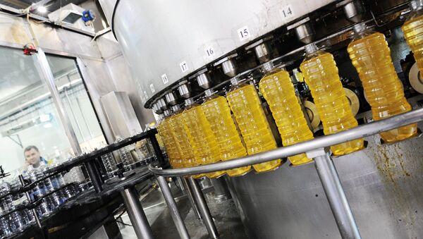 Производство подсолнечного масла - Sputnik Узбекистан