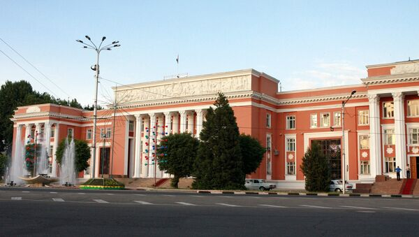 Tojikiston parlamenti binosi - Sputnik Oʻzbekiston
