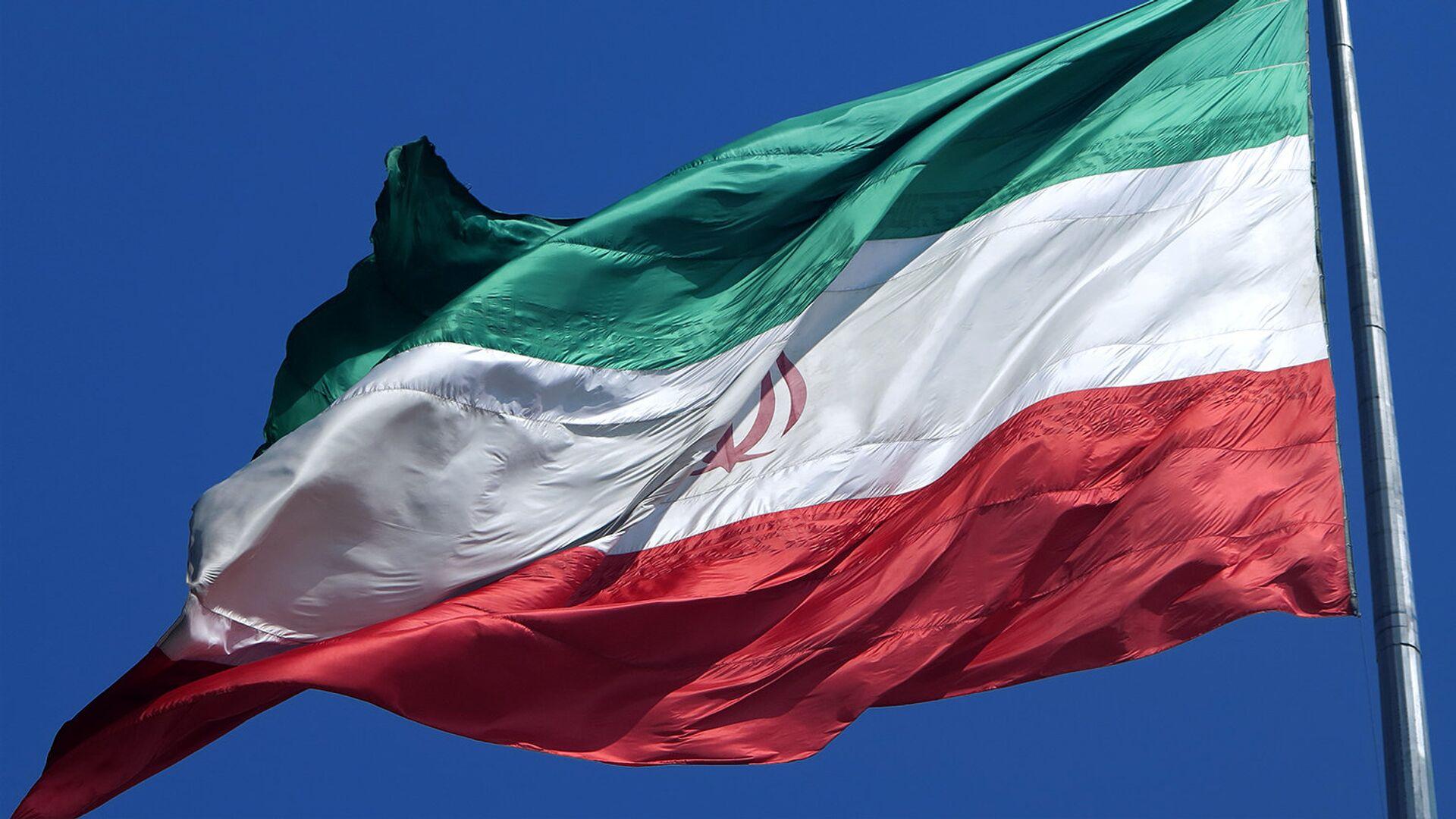 Флаг Ирана - Sputnik Узбекистан, 1920, 05.04.2021