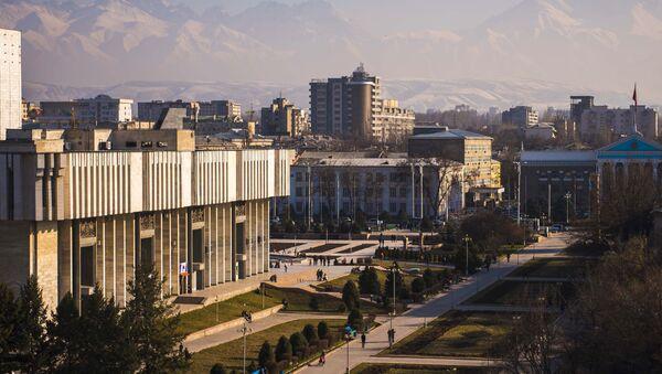 Бишкек шаҳри кўриниши - Sputnik Ўзбекистон