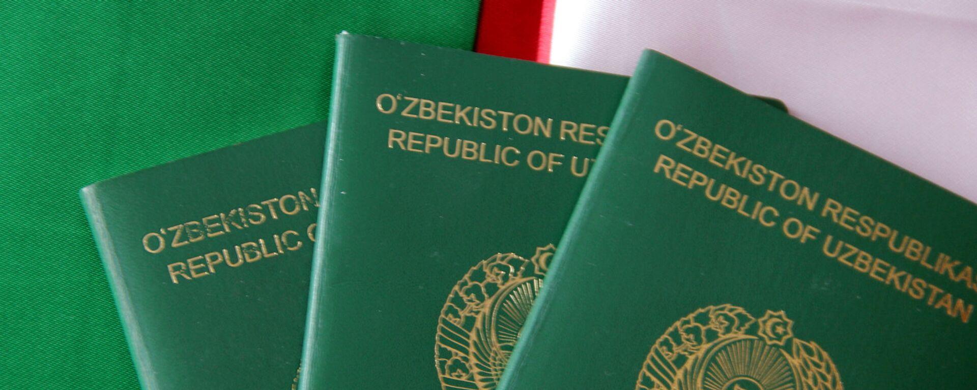 Узбекский паспорт - Sputnik Узбекистан, 1920, 11.03.2021