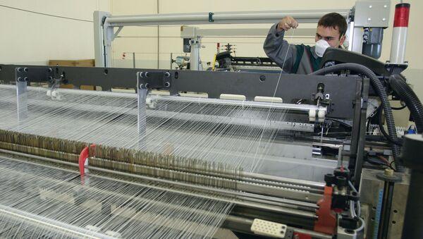 Завод по производству стекловолокна - Sputnik Ўзбекистон