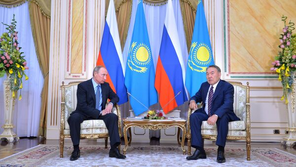Визит президента РФ Владимира Путина в Казахстан - Sputnik Ўзбекистон