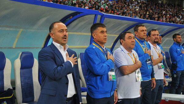 Сборная Узбекистана по футболу в матче с Ираном - Sputnik Ўзбекистон