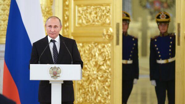 Rossiya prezidenti Vladimir Putin - Sputnik Oʻzbekiston