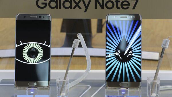 Telefon Samsung Galaxy Note 7 - Sputnik Oʻzbekiston