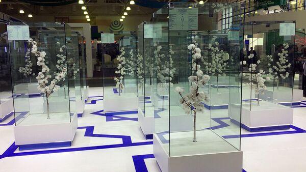 Выставка хлопка в Ташкенте - Sputnik Узбекистан