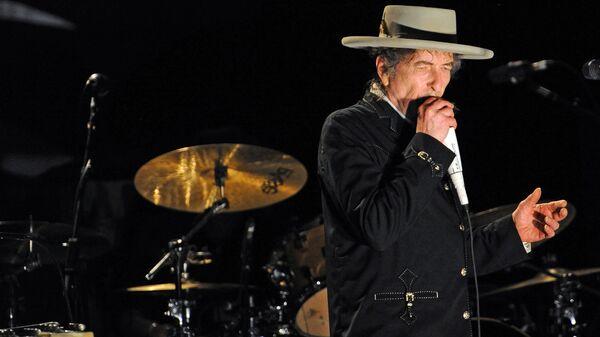 Американский артист Боб Дилан - Sputnik Узбекистан