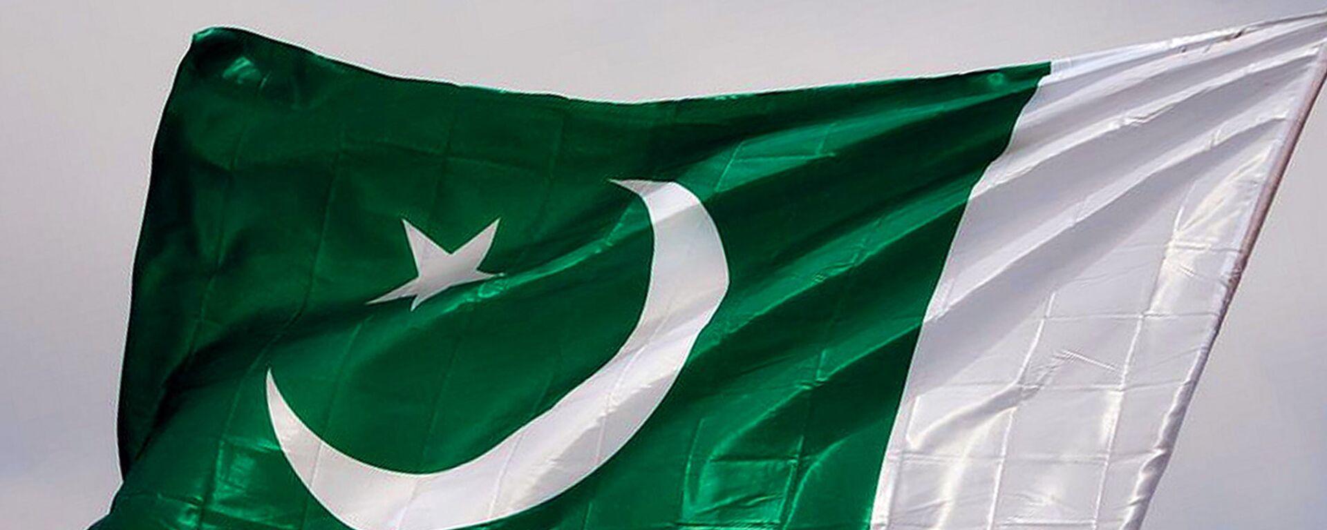 Флаг Пакистана - Sputnik Ўзбекистон, 1920, 12.10.2021