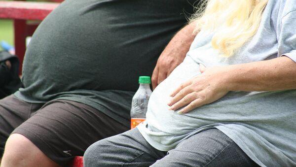 Мужчины с избыточным весом - Sputnik Узбекистан